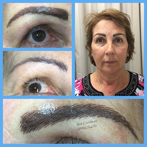microblading eyebrow tattoo