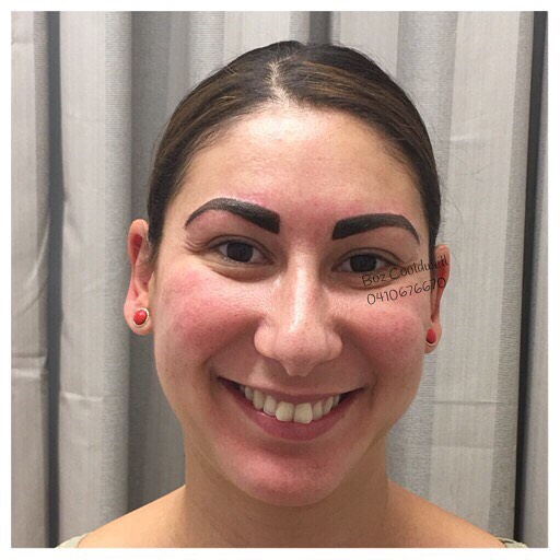 beautiful permanent eyebrows