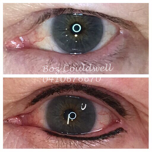 Eyeliner cosmetic tattoo Wollongong
